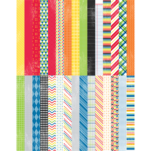 Picture of Pocket It's a Kid's World Border Strips by Lauren Hinds - Set 30