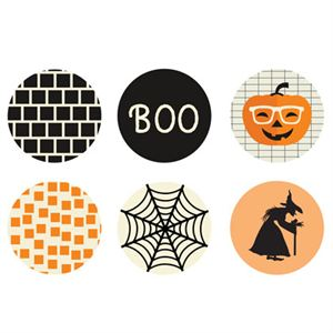 Picture of Halloween Large Locket Backdrops